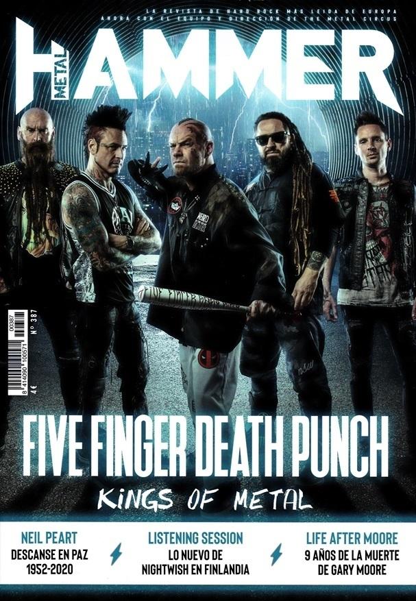 Metal Hammer: la revista con las que nos hicimos jevis pa' to' la vida Metal_Hammer_387_Feb._2020