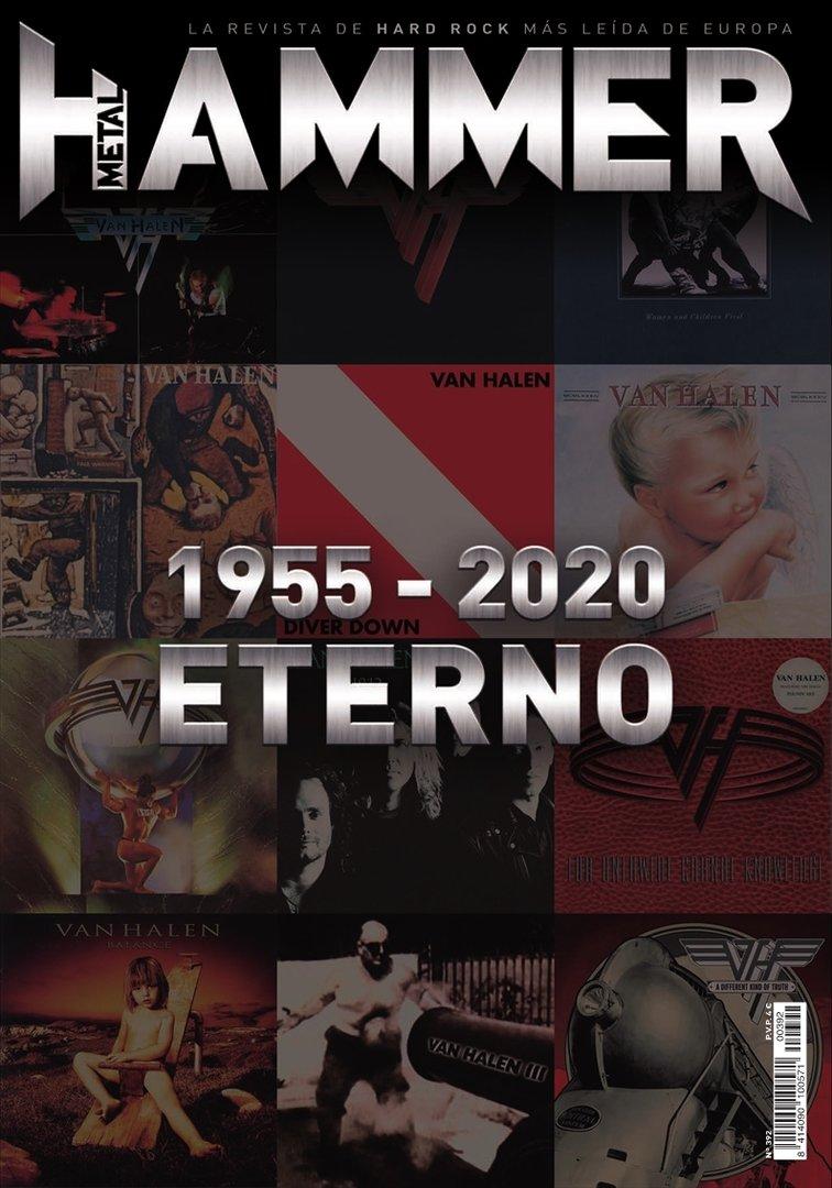 Metal Hammer: la revista con las que nos hicimos jevis pa' to' la vida - Página 2 Metal_Hammer_392_Dic._2020